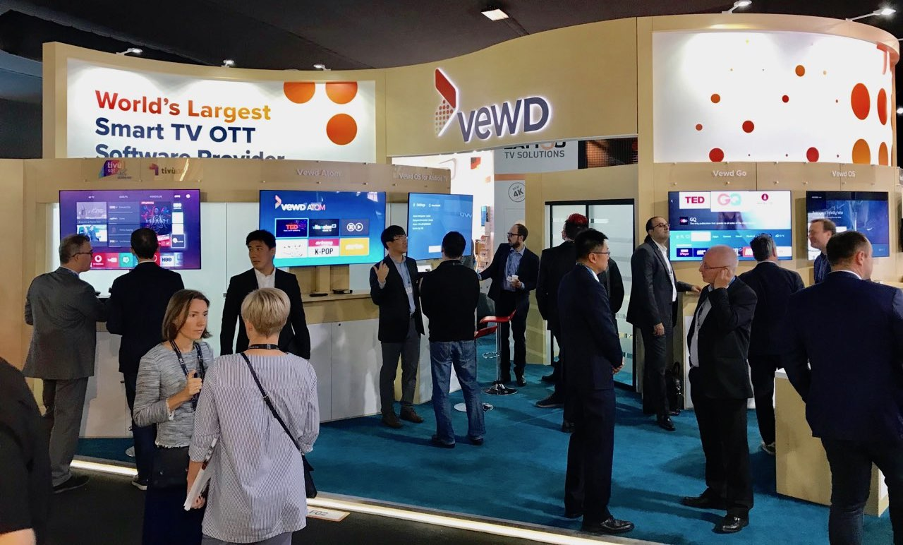 Vewd booth